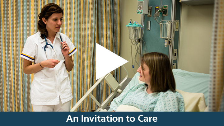 NCF Nursing Students: Invited to Care
