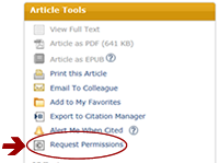 Request Permissions