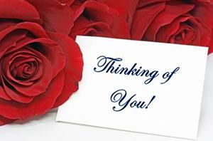 Thinkingn of you