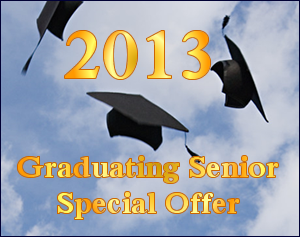 Graduating Senior Special Offer